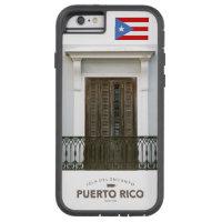 San Juan, Puerto Rico Flag Tough Xtreme iPhone 6 Case