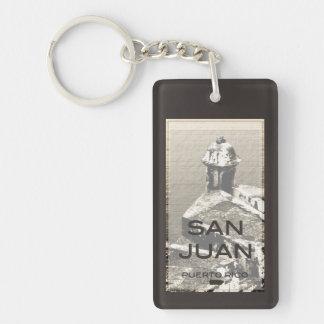 San Juan Puerto Rico Keychain