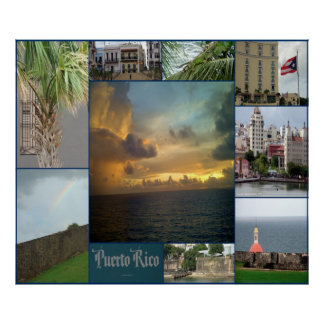 San Juan Puerto Rico Posters