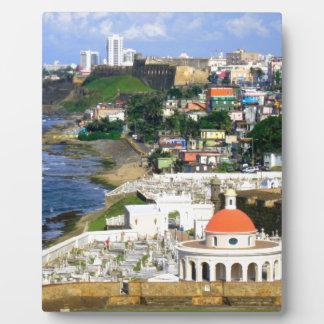 San Juan Puerto Rico Plaque