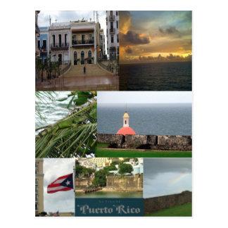 San Juan, Puerto Rico Post Card