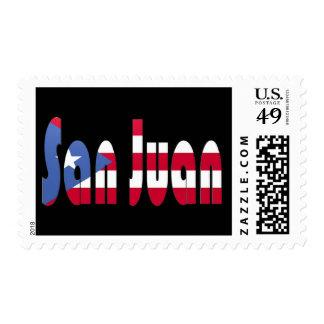 San Juan, Puerto Rico Postage Stamp