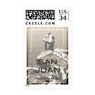 San Juan Puerto Rico Postage Stamp