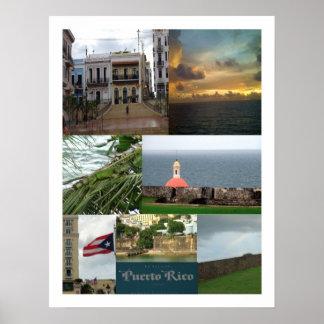 San Juan, Puerto Rico Póster