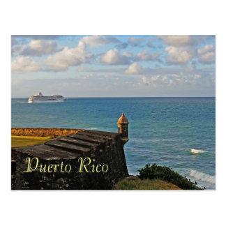 San Juan, Puerto Rico Souvenir Postcard
