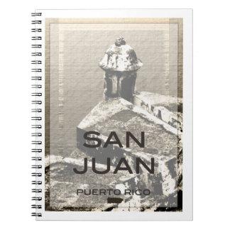 San Juan Puerto Rico Spiral Notebooks