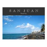 San Juan, Puerto Rico Tarjeta Postal