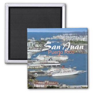 San Juan Puerto Rico Travel Souvenir Fridge Magnet