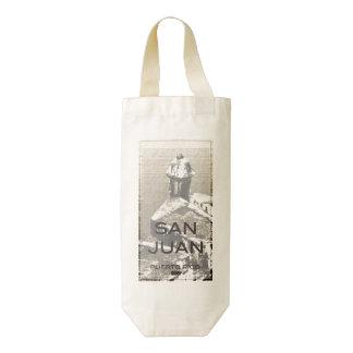 San Juan Puerto Rico Zazzle HEART Wine Bag