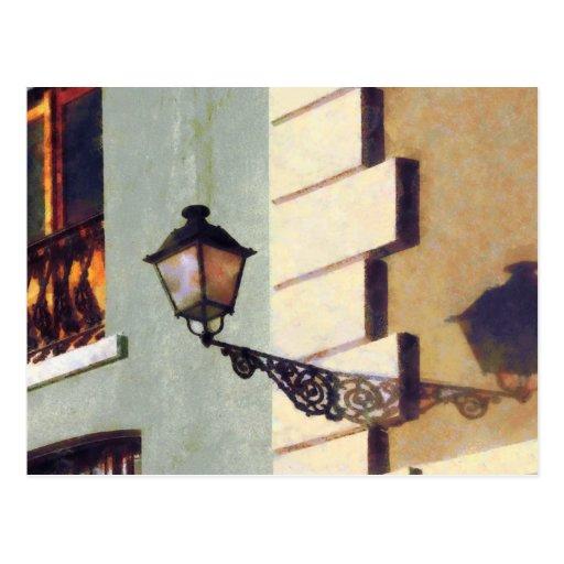 San Juan Street Lamp Postcards