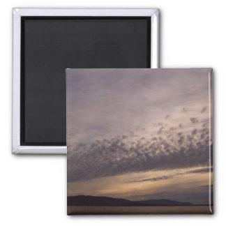 San Juan Sunset 2 Inch Square Magnet