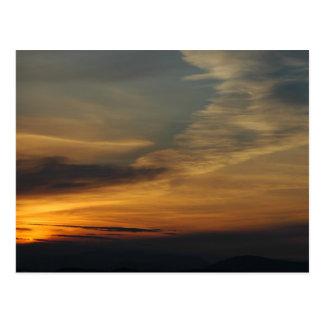 San Juan Sunset 3 Postcard
