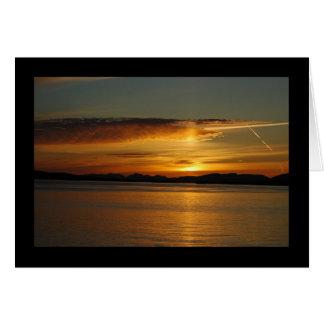 San Juan Sunset Card