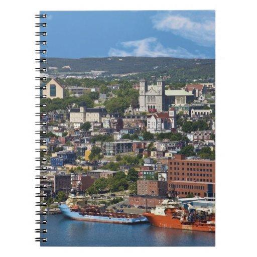 San Juan, Terranova, Canadá, la costa costa Libros De Apuntes
