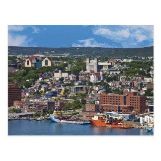 San Juan, Terranova, Canadá, la costa costa Postal