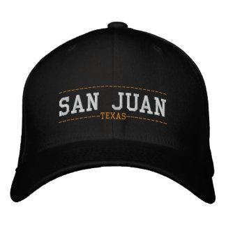 San Juan Texas USA Embroidered Hats