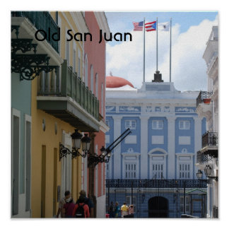 San Juan viejo Póster