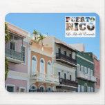 San Juan viejo Puerto Rico Alfombrilla De Ratones