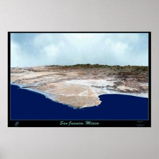 San Juanico, Baja California satellite poster