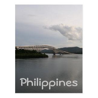 San Juanico Bridge Postcard