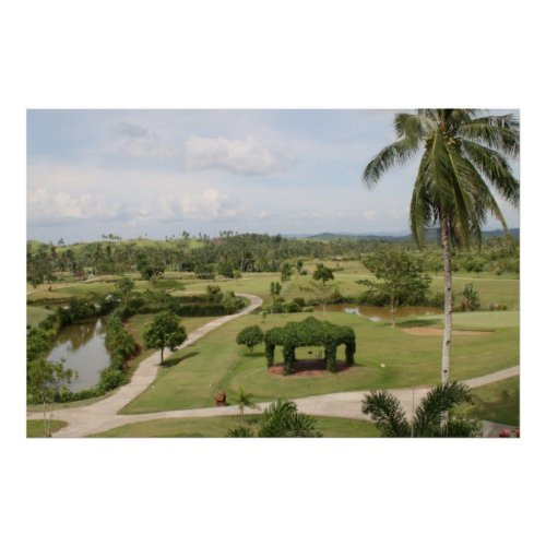 San Juanico Park, Golf and Country Club in Tacloban City, Philippines