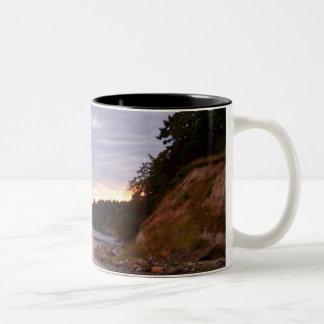 San Juans Sunset Two-Tone Coffee Mug