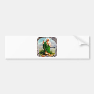 SAN JUDAS CUSTOMIZABLE PRODUCTS BUMPER STICKER