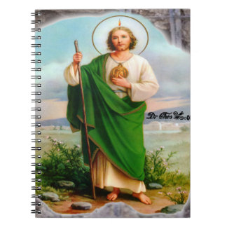 SAN JUDAS CUSTOMIZABLE PRODUCTS SPIRAL NOTEBOOKS