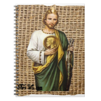 SAN JUDAS ST JUDE CUSTOMIZABLE PRODUCTS SPIRAL NOTE BOOK