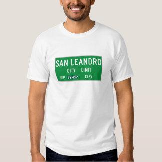 San Leandro City Limits T-shirt