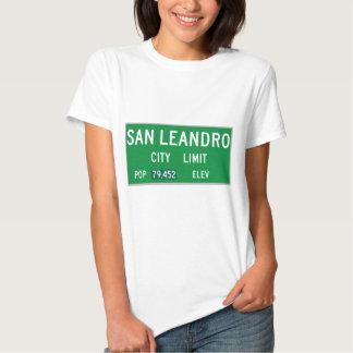 San Leandro City Limits Tee Shirt