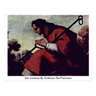 San Lorenzo de Zurbaran De Francisco Postal