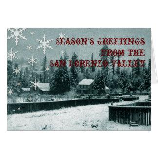 San Lorenzo Valley Holiday Card
