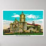 San Luis de la misión, Rey de FranciaOceanside, CA Poster