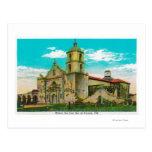 San Luis de la misión, Rey de FranciaOceanside, CA Tarjetas Postales