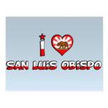 San Luis Obispo, CA Tarjeta Postal