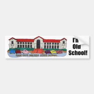 San Luis Obispo High School Bumper Sticker Car Bumper Sticker