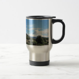 San Luis Obispo Hills on Los Osos Road Travel Mug