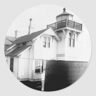 San Luis Obispo Lighthouse Classic Round Sticker