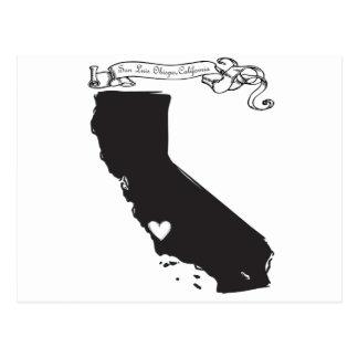 San Luis Obispo Postcard