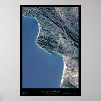 San Luis Obispo, poster del satélite de California