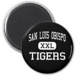 San Luis Obispo - Tigers - High - San Luis Obispo Refrigerator Magnets