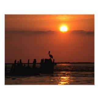 San Luis Pass Sunset Photo Print