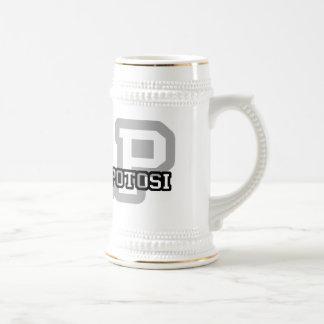 San Luis Potosi Beer Stein