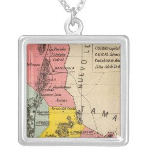 San Luis Potosi, Mexico Silver Plated Necklace