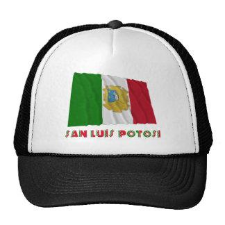 San Luis Potosí que agita la bandera oficiosa Gorra