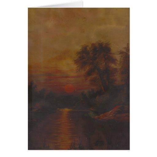 San Luis Potosi Sunset Mexico Greeting Card