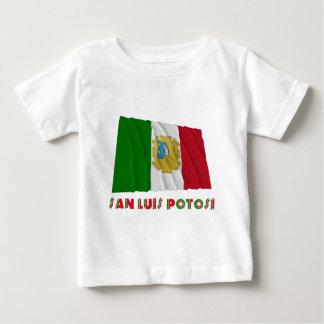 San Luis Potosí Waving Unofficial Flag Baby T-Shirt