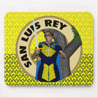 San Luis Rey de Francia Mouse Pad