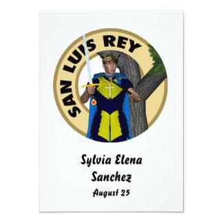 """San Luis Rey Invitación 5"""" X 7"""""""